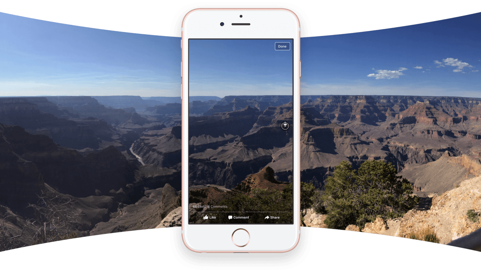 360º Photo on Facebook