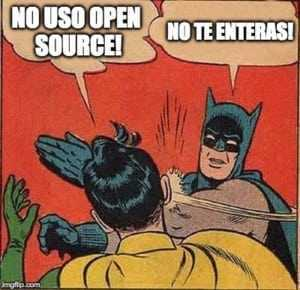 Usas código abierto sin saberlo