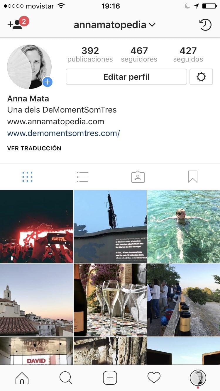 Com passar a perfil d'empresa a Instagram