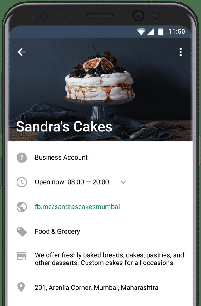 Com funciona l'aplicació de negoci de WhatsApp