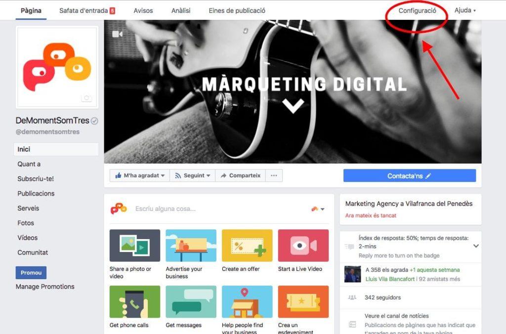 Com trobar els seguidors a uan pàgina de Facebook