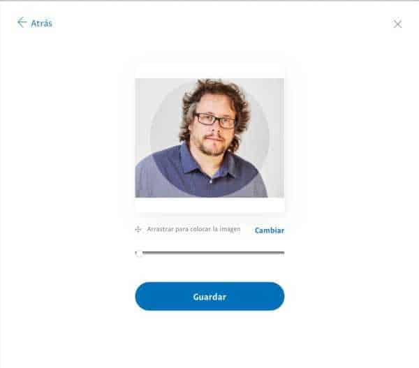 Procés de creació d'un enllaç PayPalMe - pas 3