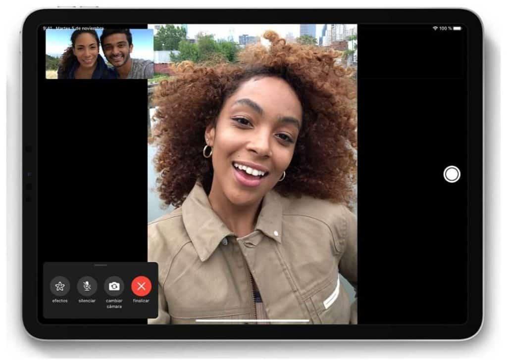 Videoconferència Facetime