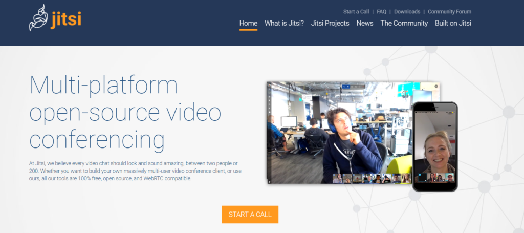 Tutorial de videoconferencia con Jitsi Meet 1