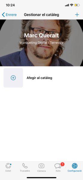 Crear catálogo de Whatsapp - paso 3