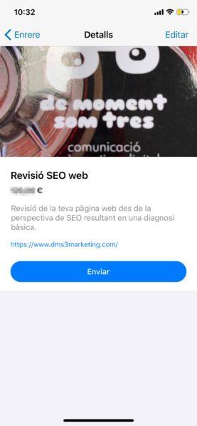 Crear catálogo de Whatsapp - paso 6