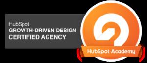 Hubspot Growth Driven Design Certified Agency