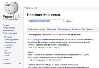La cerca fallida de la Wikipedia, una crida a crear nous continguts