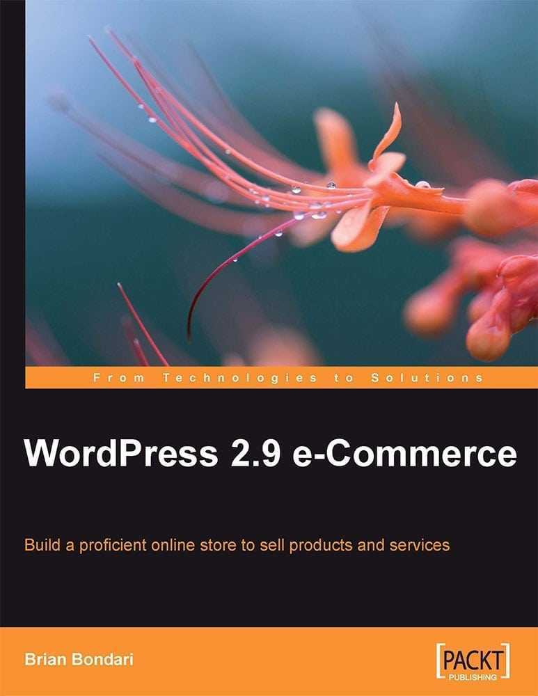He llegit WordPress e-Commerce de Packt Publishing