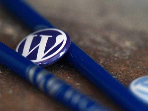 Material promocional de WordPress