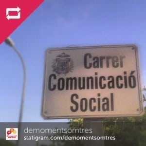 Carrer de la Comunicació Social al Francàs (el Vendrell, Baix Penedès)