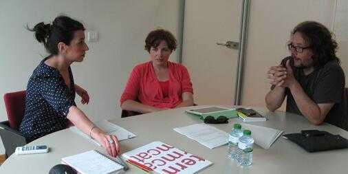 Reunió al Termcat amb la Sandra Cuadrado per parlar de Màrqueting Digital