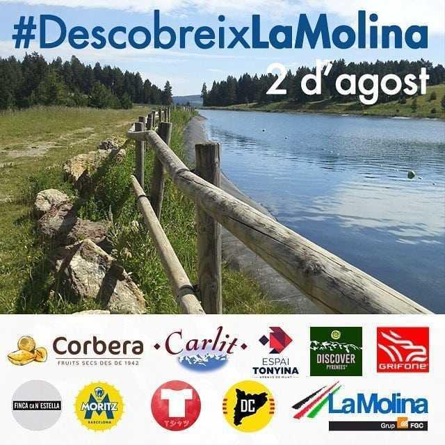 Descobreix la Molina. Esdeveniment d'Instagram amb Corbera