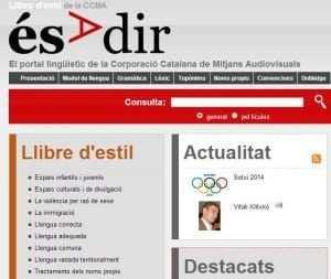 Ésadir, portal de consultes lingüístiques