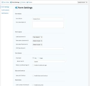 Configuració del formulari de Gravity Forms per a WordPress