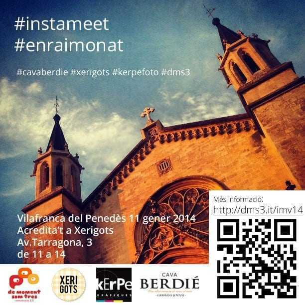 Convocatòria Instameet Gener 2014 a Vilafranca