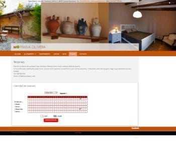 La pàgina de reserves permet veure tots els allotjaments de manera simultània