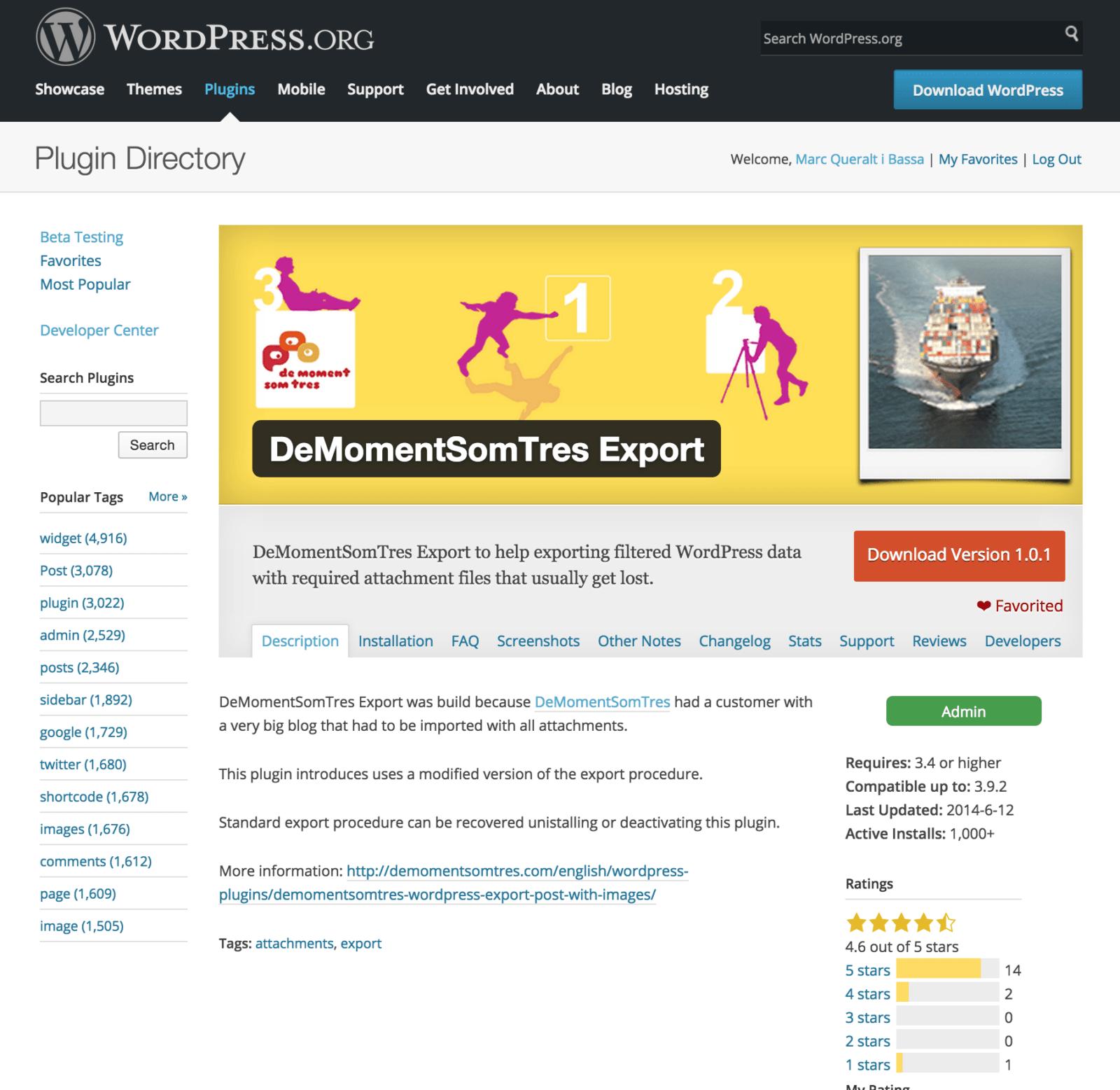 DeMomentSomTres Export un èxit dels continguts de qualitat