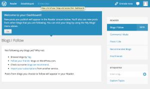 Ja tenim un blog a WordPress