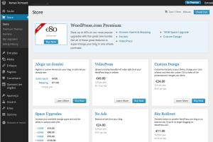 1. Accedim a la botiga de WordPress.com i escollim afegir un domini al blog